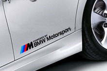 M BMW Motorsport M3 M5 M6 E36 E39 E46 E63 E90 Decal sticker embl