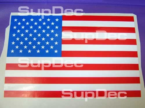 American USA Flag Car Window Sticker Decals