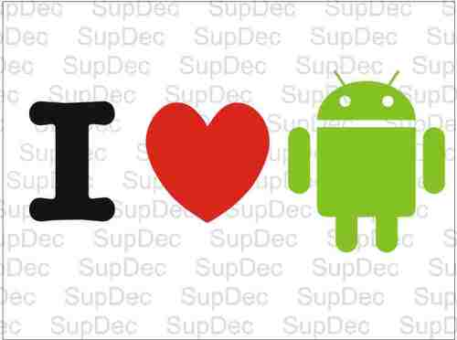 I heart LOVE android #2