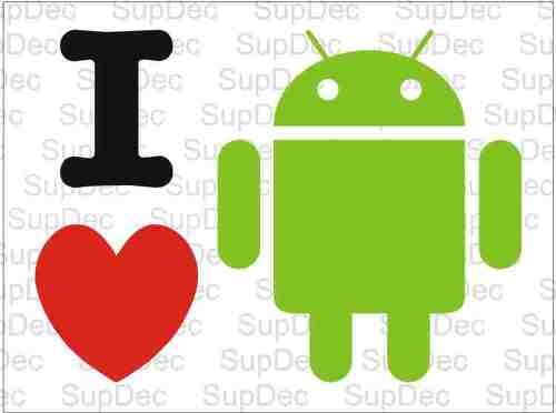 I heart LOVE android