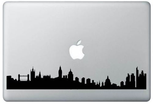 London Skyline MacBook Apple  Decal