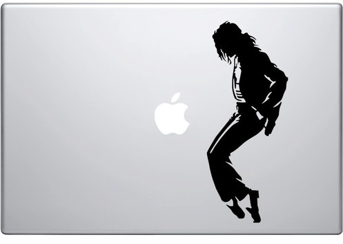 Apple Michael Jackson macbook decal sticker