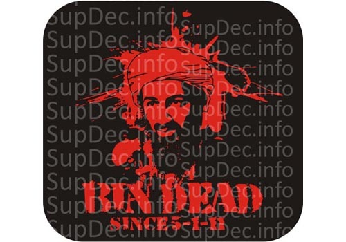 Osama Bin Laden Kill Ded Decal Sticker