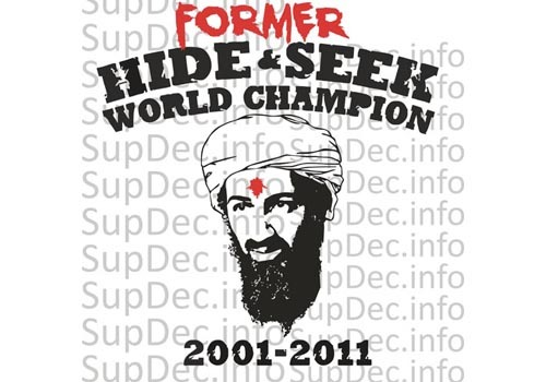 Osama Bin Laden Kill Ded Decal Sticker #2