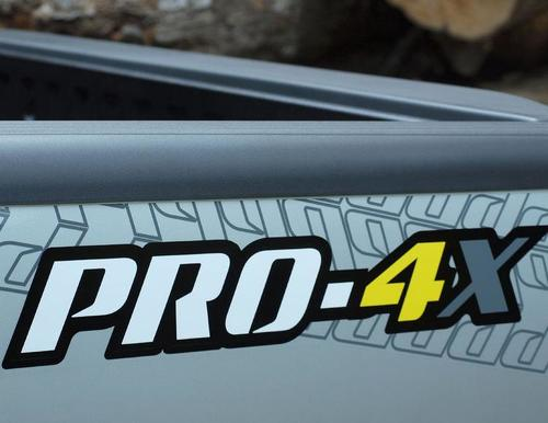 pair nissan frontier xterra pro x4 vinyl decal sticker