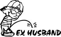 Pee on ex husbend