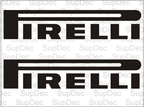 Pirelli Racing  Decal Sticker #1