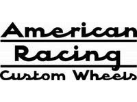 American Racing decal sticker