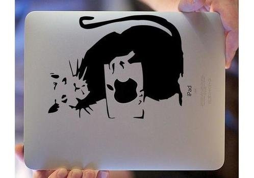 Rat ipad artwork decal sticker
