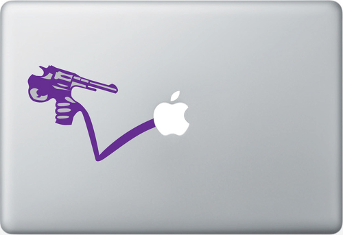 BANG Apple Macbook Decal Sticker