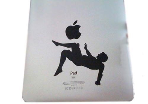 Soccer ipad decal sticker