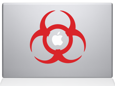 toxic decal sticker macbook apple