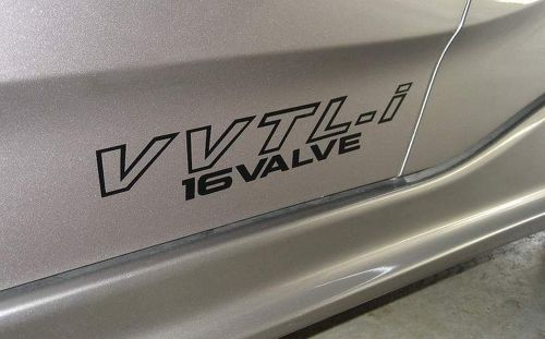 2 vvtL-i vvtLi decal sticker emblem logo Fits Celica GTS Corolla S MR2 MR-2