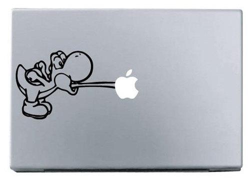 Apple yoshi macbook decal sticker